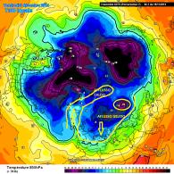 Cluster 7, 5 Dicembre temperature