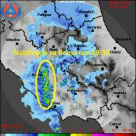 Radar Lazio ore 19:30