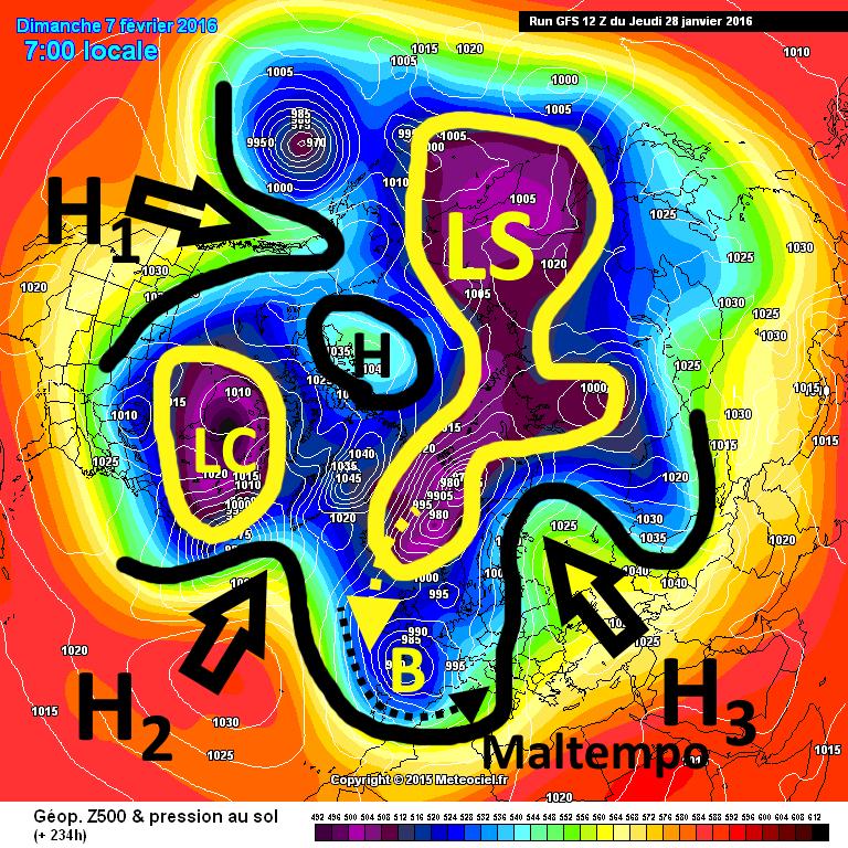 Saccature artiche eo nordatlantiche riporteranno la neve  ~ Baclofen Hiccups